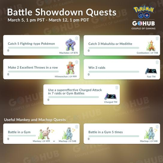 Battle Showdown Quests