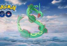 Pokemon GO Rayquaza weekend