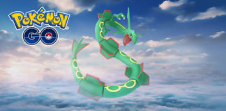 Pokemon GO Rayquaza weekend