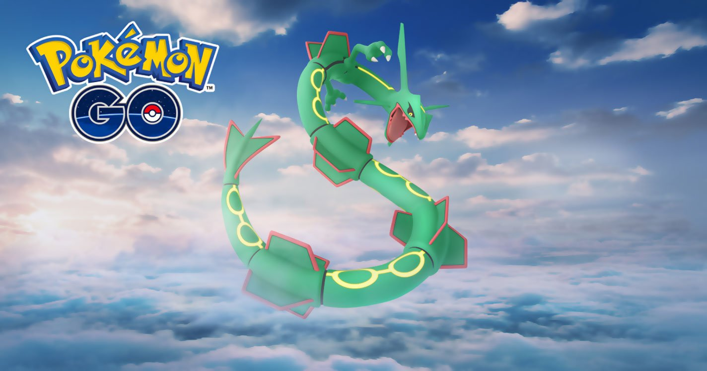 Rayquaza is Coming Back for a Special Raid Weekend Event