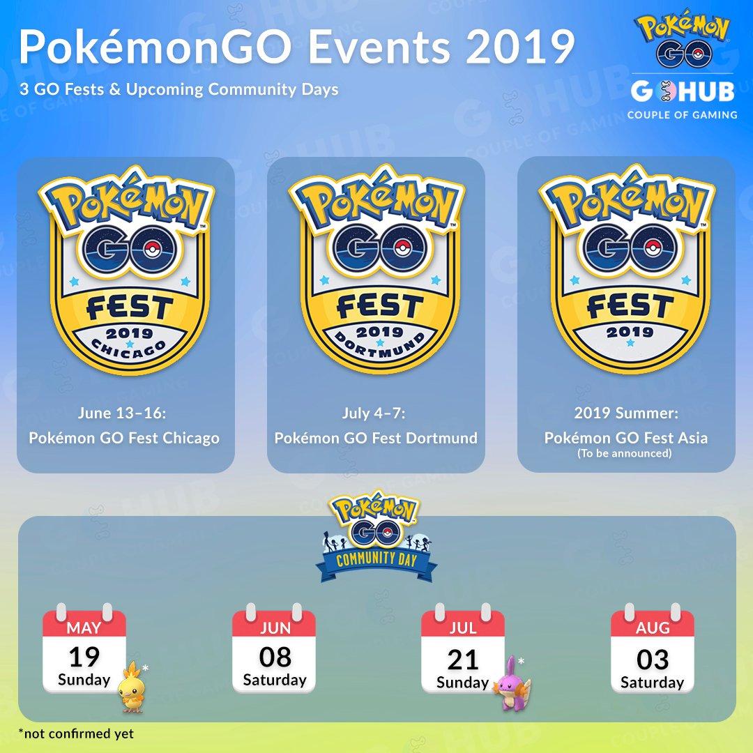 Niantic Announces GO Summer Tour 2019 Details: GO Fest in