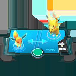 Trading Button Pokémon GO