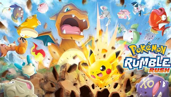 Pokémon Rumble Rush Mobile