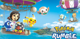 Key Art of Pokémon Rumble Rush