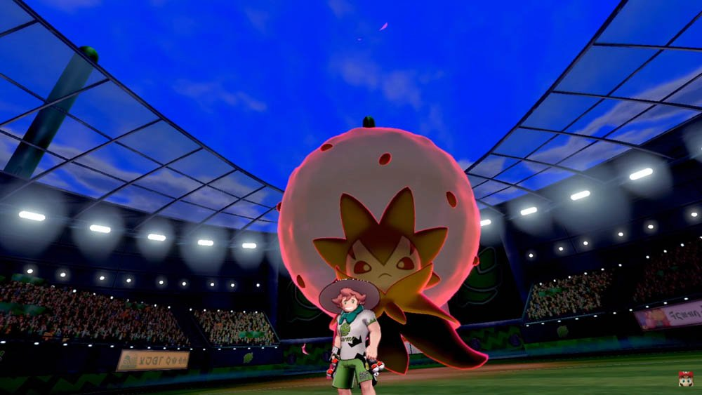 Galar region gym battles feature dynamaxed Pokemon