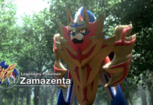 Zamazenta in Pokemon Sword and Shield
