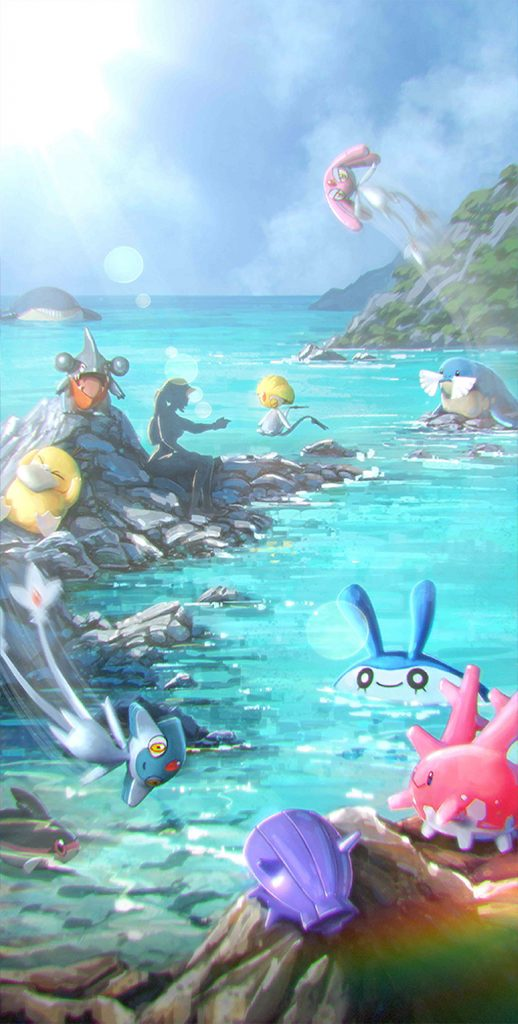 Pokemon GO Summer 2019 Loading Screen