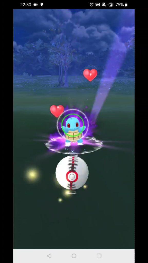 Catching Shadow Pokémon