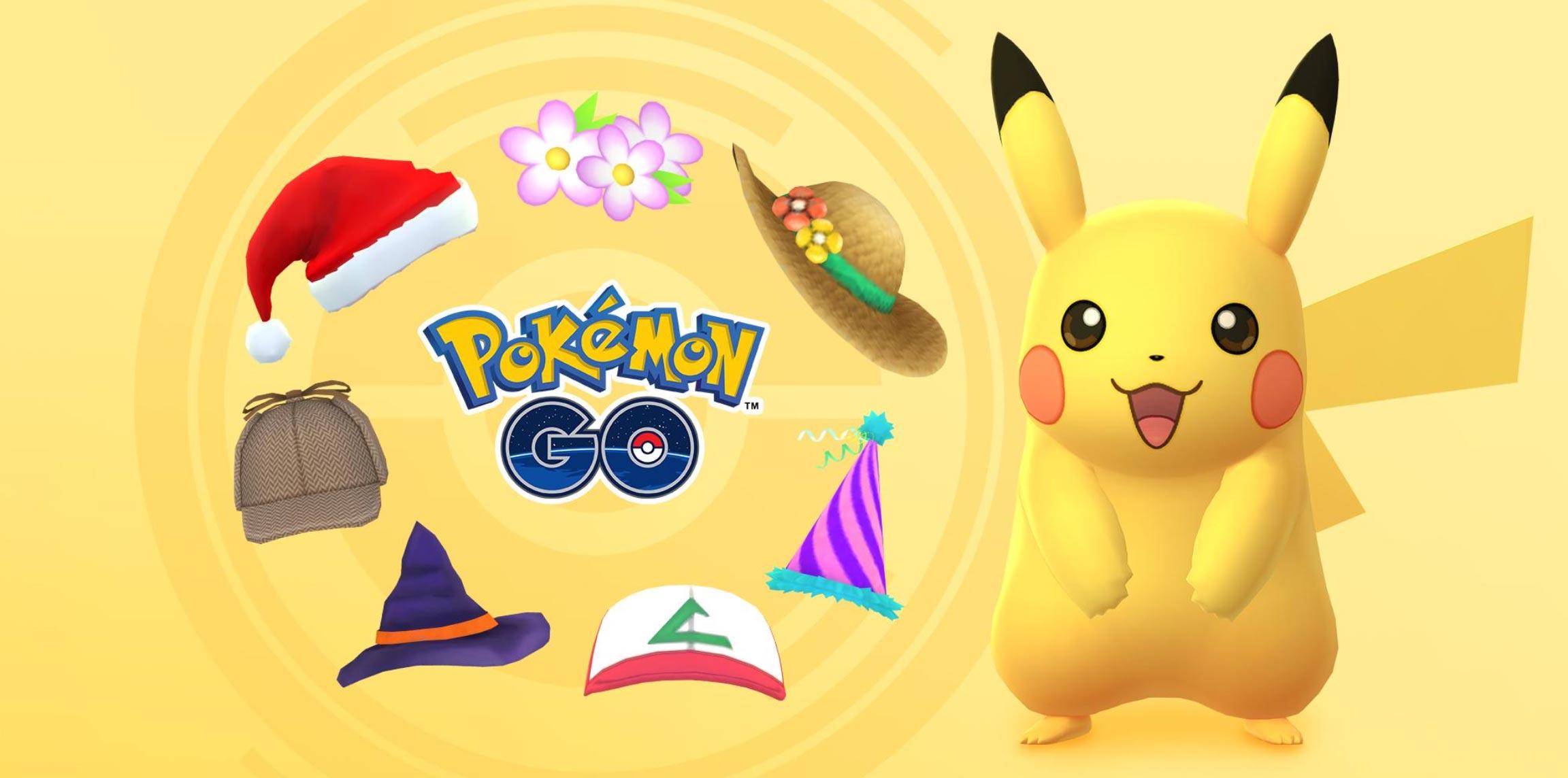 Multiple Hat Pikachu Costumes Return To Pokemon Go Pokemon Go Hub
