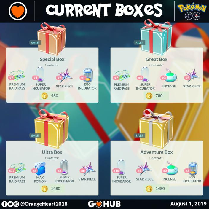 In-game Shop Boxes for Rayquaza graphic by OrangeHeart