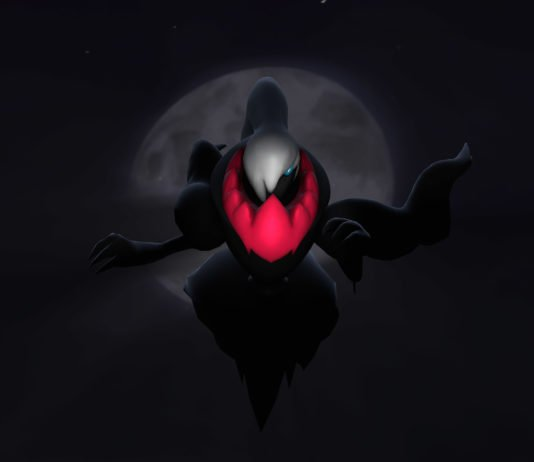 Darkrai in Pokemon GO Raids for Halloween 2019