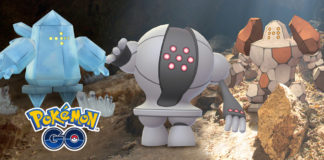 Regigigas, Shiny Regi Trio and Shiny Skarmory are coming to Pokémon GO