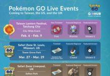 Pokemon GO Live Events 2020