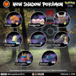 Team Rocket Leaders February Lineups and Shadow Pokémon