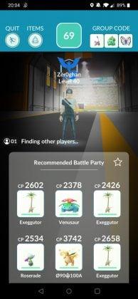 Remote Raiding Lobby Pokemon GO