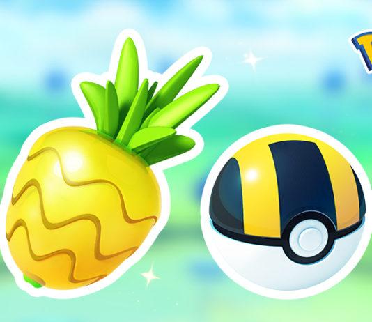 Ultra Balls and Pinap Berries