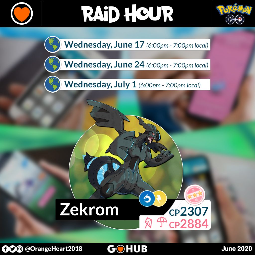 Zekrom Raid Hours