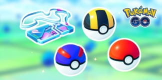 Final 1 PokéCoin bundle: Remote Raid Pass, 20 Poké Balls, 10 Great Balls and 5 Ultra Balls