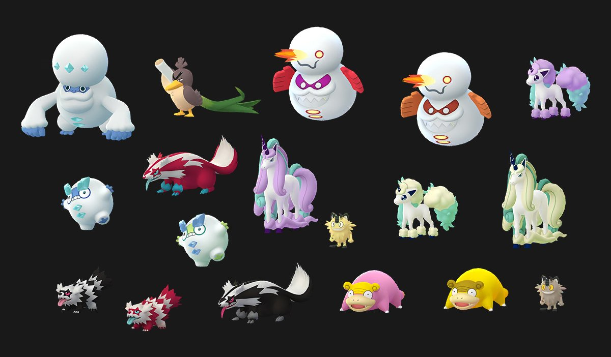 Galar Pokemon Assets Added To Pokemon Go Pokemon Go Hub