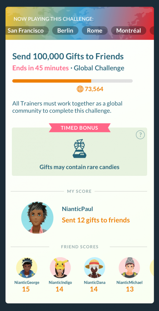 Pokemon Go Fest 2020 Global Challenge Arena