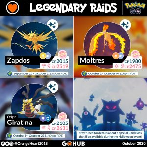 Halloween 2020 Cp Pokémon GO October 2020 Events, Spotlights and Special Research