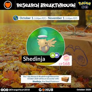 Pokemon Go Halloween 2020 Special Research Pokémon GO October 2020 Events, Spotlights and Special Research