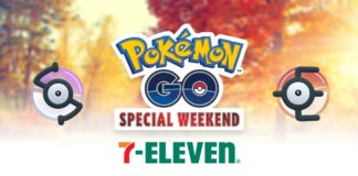 Special Weekend Pokémon GO 7-Eleven