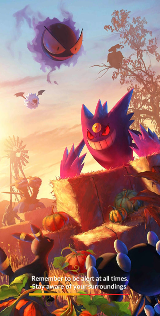 Halloween 2020 Loading Screen