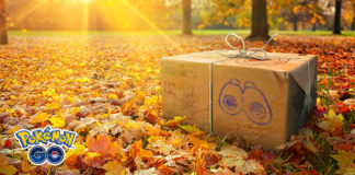Research box in field (autumn)
