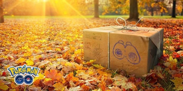 Research box in field (autumn)