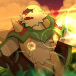 Chesnaught drawing by Lizamas on Newgrounds