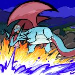 Salamence dragon pulse