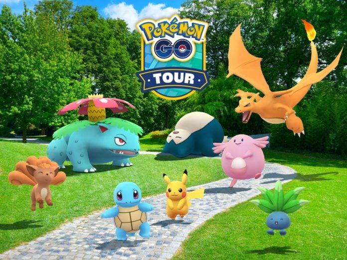 Pokémon GO Tour: Kanto