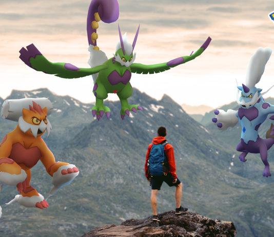 Season of Legends (Therian Pokémon on the image)