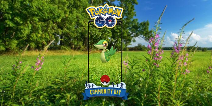Snivy Community Day