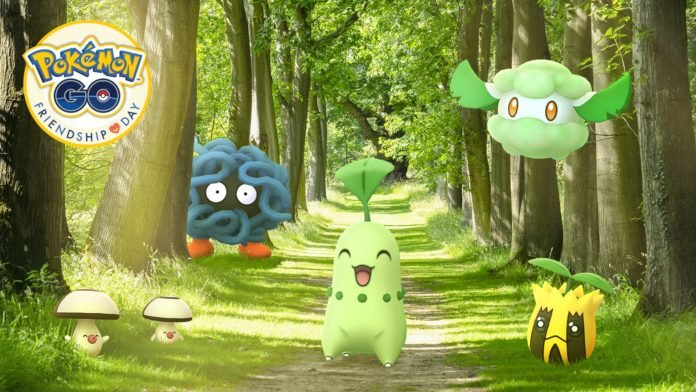 Friendship Day Event: Grass-type Pokémon