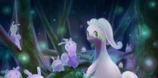 Goodra and goomy wallpaper
