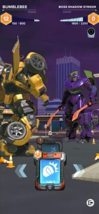 Transformers battling in Heavy Metal