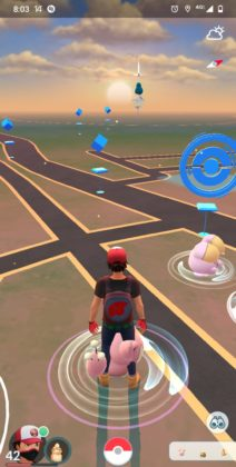 Real Time Sky Mechanic in Pokémon GO