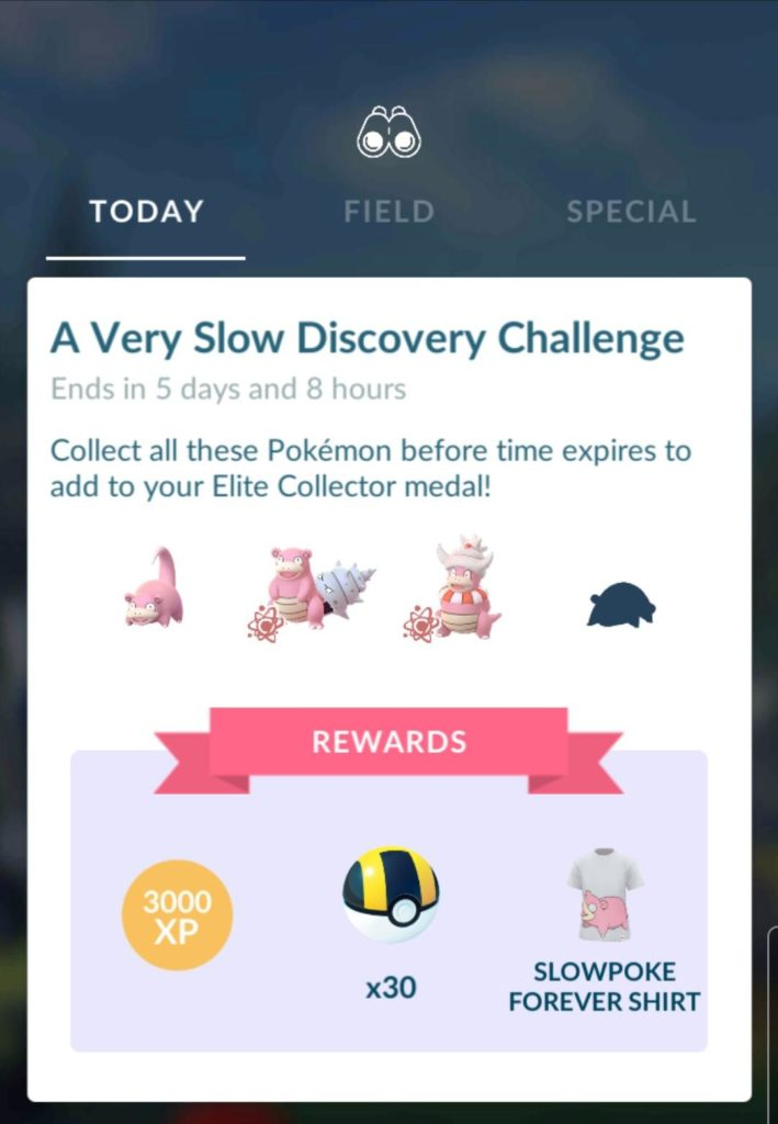 A Very Slow Discovery Challenge