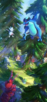 Forrest with Gen 4 Pokémon