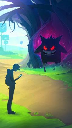 Halloween Gengar Loading screen