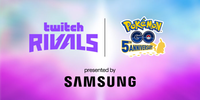 Tune in to Twitch Rivals ft. Pokémon GO, presented by Samsung!